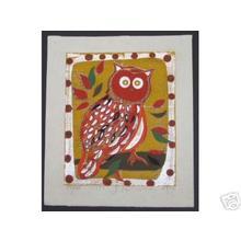 Kimura Yoshiharu: Unread- Owl - Japanese Art Open Database