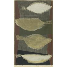 Kimura Yoshiharu: White Flounder - Japanese Art Open Database
