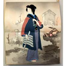 Kaburagi Kiyokata: Dear Wife — 恋女房 - Japanese Art Open Database