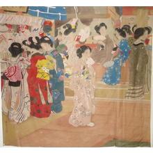 Kaburagi Kiyokata: Eleven Bijin - Japanese Art Open Database