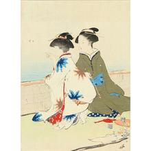鏑木清方: Gathering Shelfish — 汐干狩 - Japanese Art Open Database