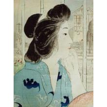 鏑木清方: Onsen in the Evening — いで湯の夕べ - Japanese Art Open Database