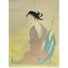 Kaburagi Kiyokata: Yarinogonza kasanu Katabira — 鑓の権三重帷子 - Japanese Art Open Database