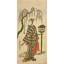 二代目鳥居清満: The Actor Bando Hikosaburo in the Role of Shida no Kotaro — したの小太郎坂東彦三郎 - Japanese Art Open Database