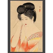 Kiyoshi Kobayakawa: Hair — 髪 - Japanese Art Open Database