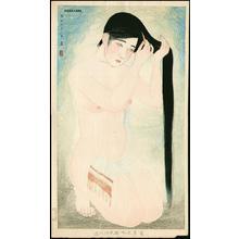 Kiyoshi Kobayakawa: Glossy dark hair - Japanese Art Open Database