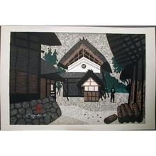 Kiyoshi Saito: Unknown- Saito's hometown of Aizu - Japanese Art Open Database