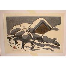 Kiyoshi Saito: Unknown, snow scene - Japanese Art Open Database