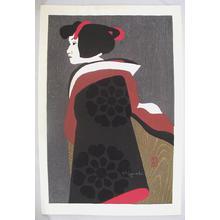 Kiyoshi Saito: Unknown, Woman - Japanese Art Open Database