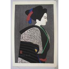 Kiyoshi Saito: Unknown, Woman 2 - Japanese Art Open Database