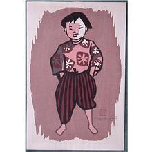 Kiyoshi Saito: Unknown, child - Japanese Art Open Database
