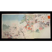 Kobayashi Kiyochika: March — 弥生月 - Japanese Art Open Database