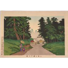 Kobayashi Kiyochika: A View of Ueno Park — 上野公園之景 - Japanese Art Open Database