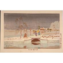 小林清親: Benten Shrine in Ikenohata — 池の端弁天 - Japanese Art Open Database