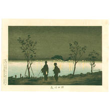 Kobayashi Kiyochika: The Sumida River at Night — 隅田川夜 - Japanese Art Open Database