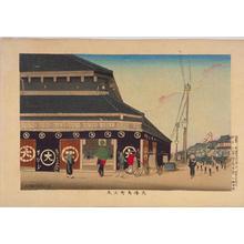 Kobayashi Kiyochika: The Daimaru Store at Odenmacho — 大伝馬町大丸 - Japanese Art Open Database