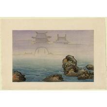 Kobayashi Kiyochika: Noto Nanao Mirage — 能登七尾蜃気楼 - Japanese Art Open Database