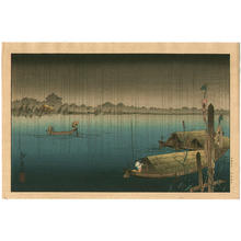 Koho: A River in the Rain - Japanese Art Open Database