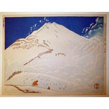 Koizumi Kishio: Mountain and Skiing - Japanese Art Open Database