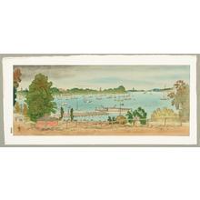 古城江観: Lake Wannsee - Germany - Japanese Art Open Database