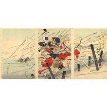 Kokunimasa Utagawa: Sasaki Takatsuna - Japanese Art Open Database