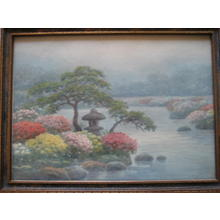 Komatsu: Flower garden - Japanese Art Open Database