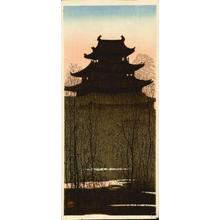Konen Uehara: Nagoya castle - Japanese Art Open Database