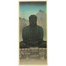 Konen Uehara: Statue of Buddha, Kamakura - Japanese Art Open Database