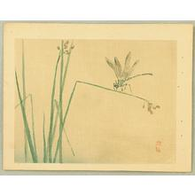 幸野楳嶺: Dragonfly - Japanese Art Open Database
