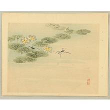 Kono Bairei: Water Strider - Japanese Art Open Database