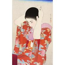鳥居言人: Autumn Leaves — 紅葉 - Japanese Art Open Database