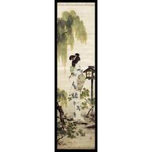 鳥居言人: Cool Summer Evening - Japanese Art Open Database