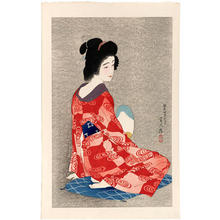 鳥居言人: Nagajuban- Long Undergarment — 長襦袢 - Japanese Art Open Database