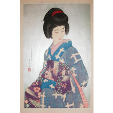 鳥居言人: Sash- Obi- V2 - Japanese Art Open Database