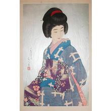 鳥居言人: Sash- Obi- V2 - Japanese Art Open Database