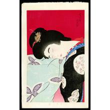 鳥居言人: Utatane- A nap- Version 2 — うたっ寝 - Japanese Art Open Database