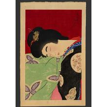Torii Kotondo: Utatane- A nap- Version 2 — うたっ寝 - Japanese Art Open Database