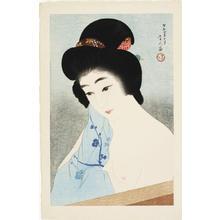 鳥居言人: Vapour- Yuge — ゆげ - Japanese Art Open Database