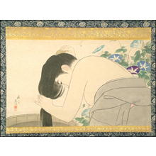 Torii Kotondo: Washing Her Hair - Japanese Art Open Database
