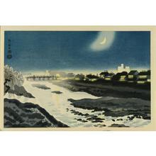 Kotozuka Eiichi: Silence of Kamo River - Japanese Art Open Database