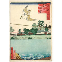 Utagawa Kunikazu: The Eguch-no-Kimi Temple — Eguchi-no Kimi Do - Japanese Art Open Database