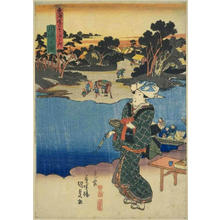 Utagawa Kunisada: Kawasaki — 川崎 - Japanese Art Open Database