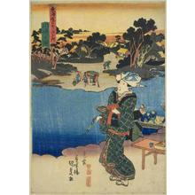 歌川国貞: Kawasaki — 川崎 - Japanese Art Open Database