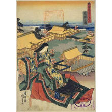 Utagawa Kunisada: Kyoto — 京都 - Japanese Art Open Database