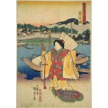 Utagawa Kunisada: Unknown title — 宮 - Japanese Art Open Database