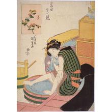 Utagawa Kunisada: Chrysanthemum — 菊 - Japanese Art Open Database
