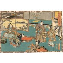 Utagawa Kunisada: Sawarabi - Japanese Art Open Database
