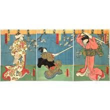 Utagawa Kunisada: Sano Keizu Soga Kosho-zome - Japanese Art Open Database