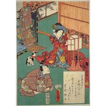 Utagawa Kunisada: Unknown title - Japanese Art Open Database
