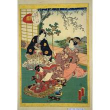 Utagawa Kunisada: Unknown title — はつ音 - Japanese Art Open Database